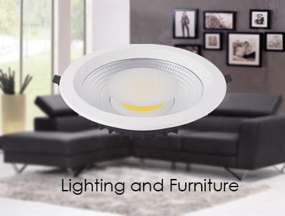 Lighting and furniture