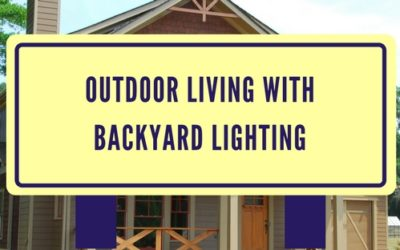 Outdoor Living With Backyard Lighting