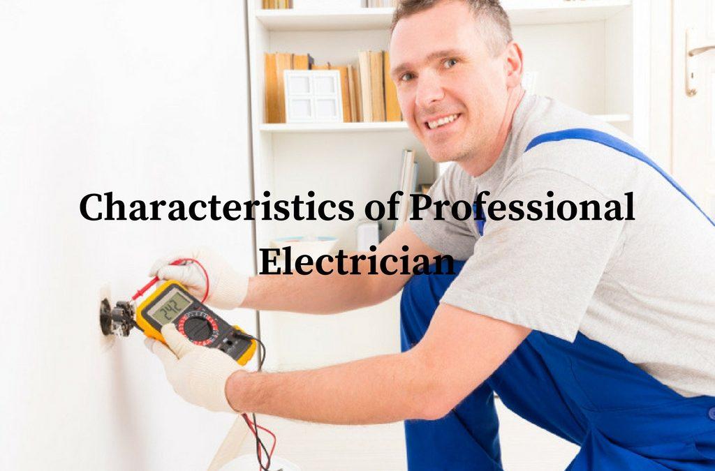 Characteristics of Professional Electrician