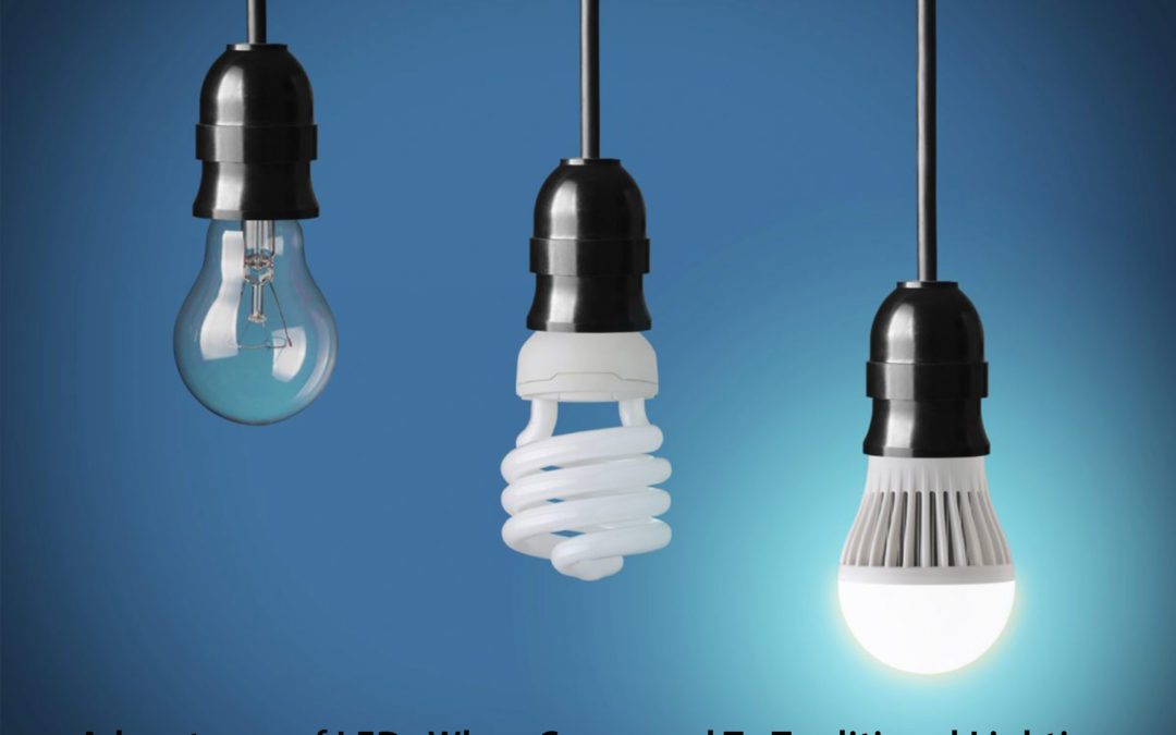 10 Advantages of LEDs When Compared To Traditional Lighting