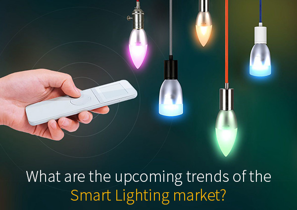 What are the Upcoming trends of the Smart Lighting market?