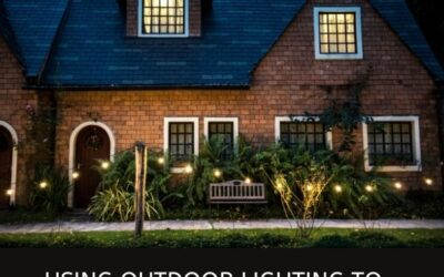 USING OUTDOOR LIGHTING TO ENHANCE GARDEN DESIGNS