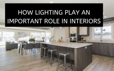 HOW LIGHTING PLAY AN IMPORTANT